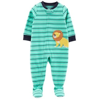 Carter's Baby Boys' 1-Piece Lion Fleece PJs