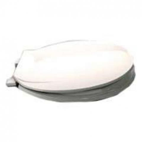 Mintcraft CS04-W3L Front Toilet Seat, White