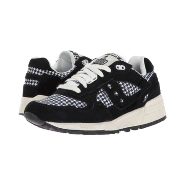 096153fc91a Saucony Womens shadow 5000 ht Low Top Lace Up Fashion Sneakers - Black - 6