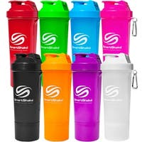 SmartShake Slim 17 oz. Neon Shaker Bottle