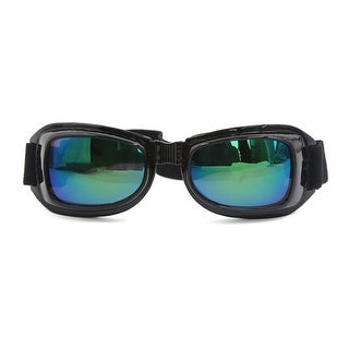 Unique Bargains Foldable UV Protective Outdoor Glasses Motorcycle Dust-proof Goggles Eyewear