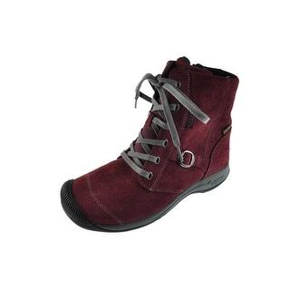 Keen Womens Reisen Suede Waterproof Ankle Boots - 5