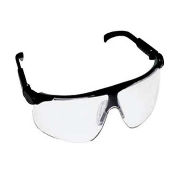 3M 13250-00000-20 Maxim Adjustable Temple Safety Glasses, Clear