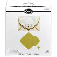 "Sizzix Bigz Die 5.5""X6""-Envelope W/Ornate Flap"