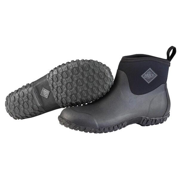 764518df6cc Muck Boots Muckster II Ankle-Height Men's Rubber Garden Boot (Black/Size 11)