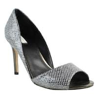 Cole Haan Womens Antoniaopentoepump Silver Open Toe Heels Size 10
