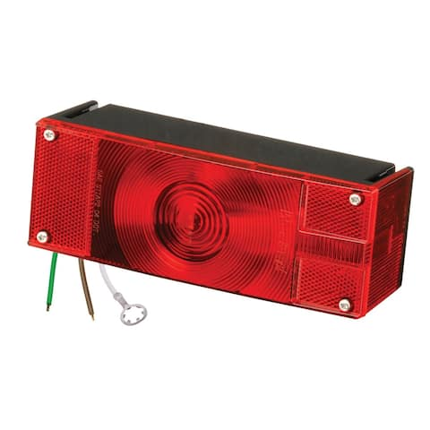 """Wesbar Low Profile 7 Function Right-Curbside Trailer Light >80"""""""