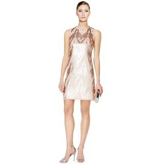 Vince Camuto Sequin Embellished Sheath Cocktail Dress - 12
