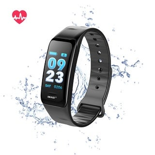 Fitness Tracker Heart Rate Monitor Watch Blood Pressure Activity Tracker Waterproof Smart Wristband for Kids Women Men