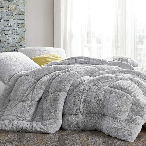 Are You Kidding Bare - Coma Inducer® Oversized Comforter - Antarctica Gray