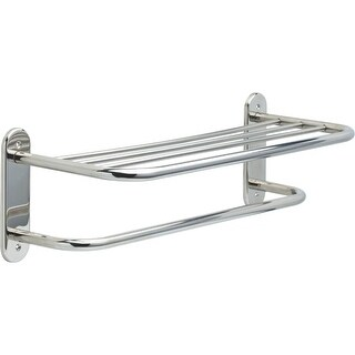 "Delta 43624 24"" Towel Shelf with Towel Bar and Exposed Mounting - n/a"