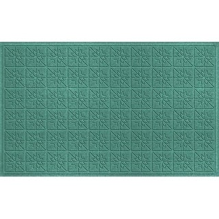 843630024 Water Guard Star Quilt Mat in Aquamarine - 2 ft. x 4 ft. ft.