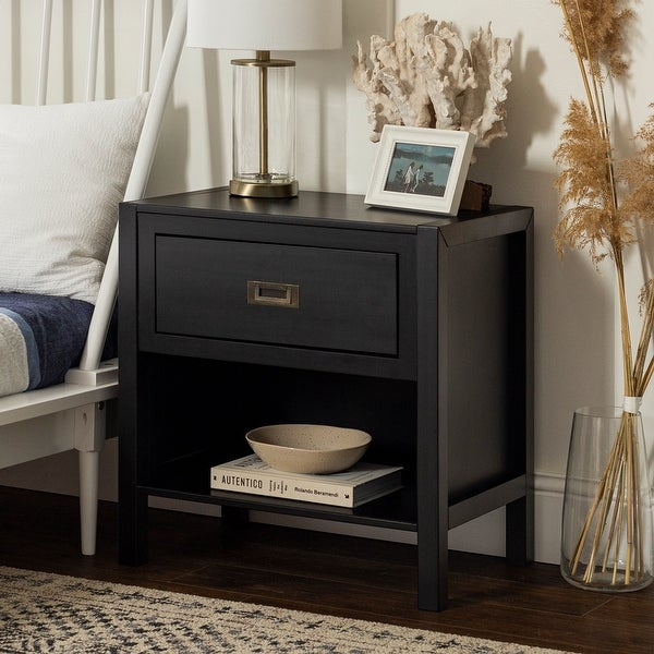 Carson Carrington Modern 1-Drawer Nightstand. Opens flyout.