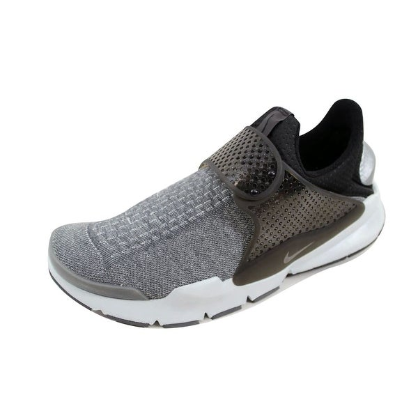 Nike Men's Sock Dart SE Premium Dark Grey/Black-Pure Platinum 859553-002