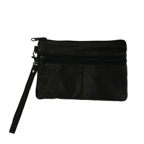 Bacci Women's Zipper Wristlet - one size