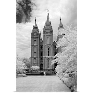 Poster Print entitled Mormon temple, Salt Lake City, Utah
