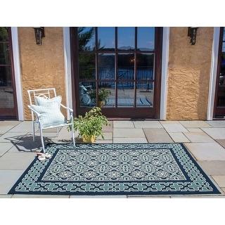 Porch & Den Esau Polypropylene Indoor/Outdoor Area Rug