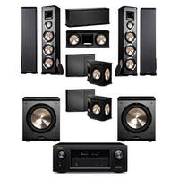 BIC Acoustech PL-980 7.2 Home Theater System-NEW!! PL-200II-Denon X2300W