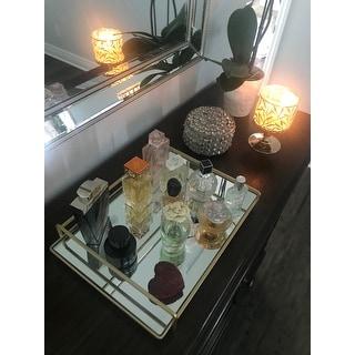 4-rail Large Vanity Mirror Tray