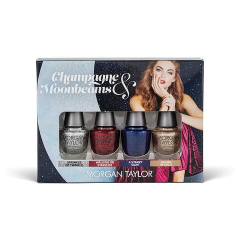 Morgan Taylor - Champagne & Moonbeams GLAM Mini 4-Pack