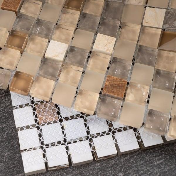 Mini Tiny 0 6 X Gl Mosaic Tile