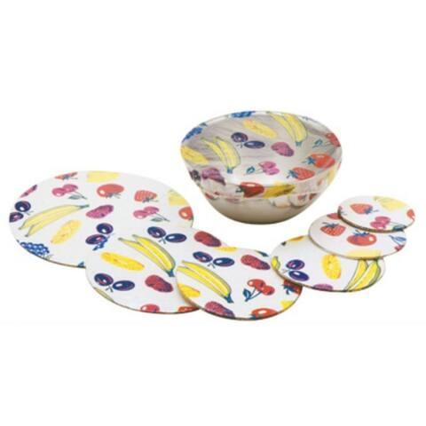 Norpro 528 Plastic Bowl Cover, 6-Piece Set
