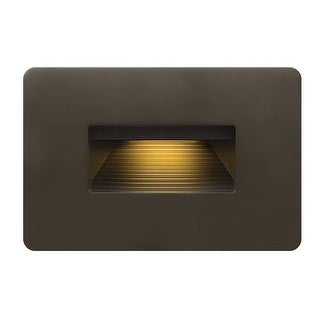 "Hinkley Lighting 58508 1 Light 3"" Height ADA Compliant LED Outdoor Step Light from the Luna Collection"