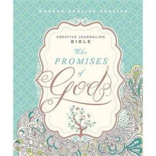 Charisma Media MEV Promises of God Creative Journaling Bible-Hardback