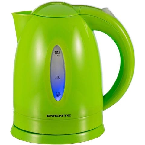 Ovente Electric Kettle 1.7Liter with LED Indicator Light (KP72 Series)