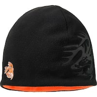 Legendary Whitetails First Light Reversible Winter Hat - Black/Orange