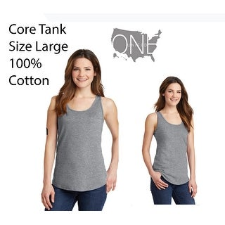 Link to One Country United Women's (Large) Tank, Heathered Grey Similar Items in Men's Athletic Clothing