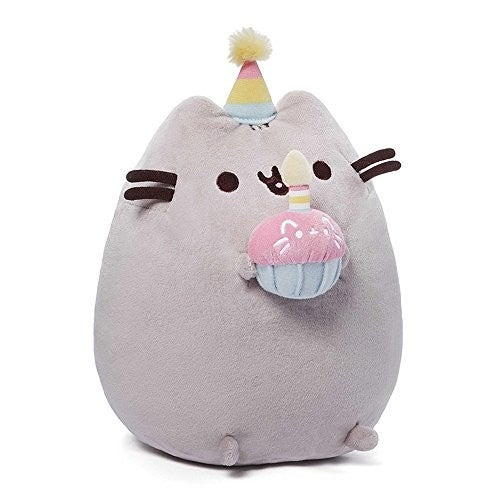 GUND Pusheen Birthday Plush
