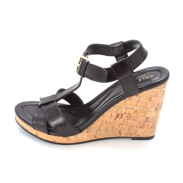 Cole Haan Womens Hildasam Open Toe Casual Platform Sandals