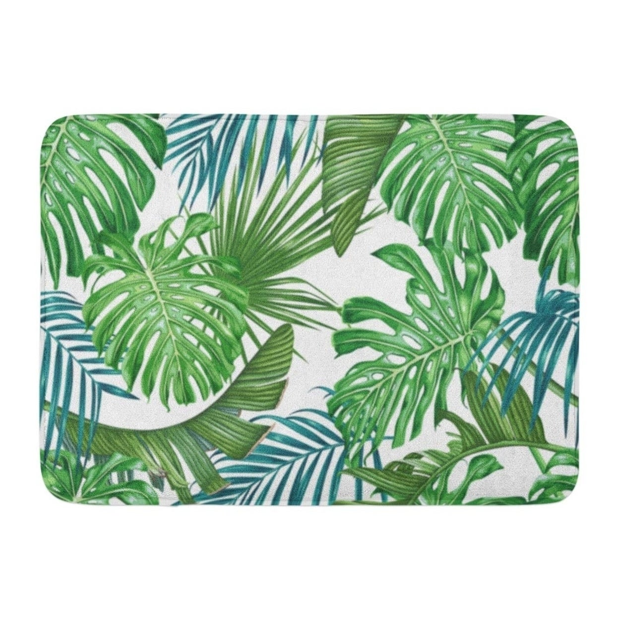 Green Tropic Tropical Leaves Palm And Monstera Pattern Leaf Floral Doormat Floor Rug Bath Mat 23 6x15 7 Inch Multi On Sale Overstock 31776012 A guide to identification and cultivation. green tropic tropical leaves palm and monstera pattern leaf floral doormat floor rug bath mat 23 6x15 7 inch multi