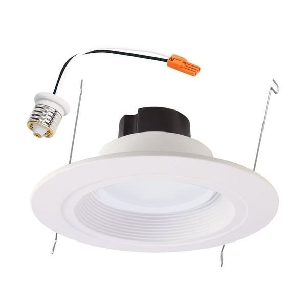 "Halo RL560WH6935R LED Retrofit Kit, Module and Trim, 5""-6"", White"