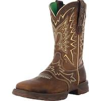 "Durango Western Boot Womens 10"" Let Love Fly Rocker Nicotine"