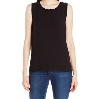 Calvin Klein NEW Black Women's Size Medium M Scoop Neck Tank Cami Top