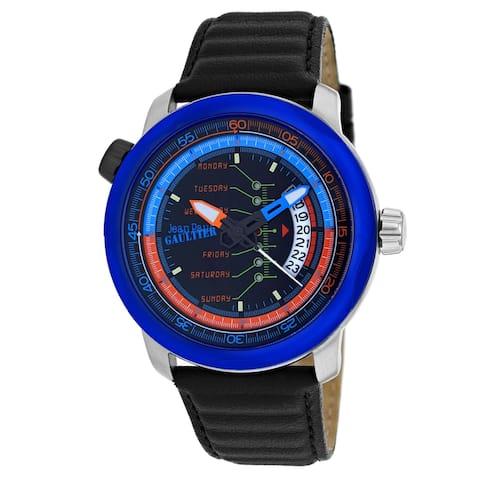 Jean Paul Gaultier Men's Cockpit 8504901 Black Dial Watch