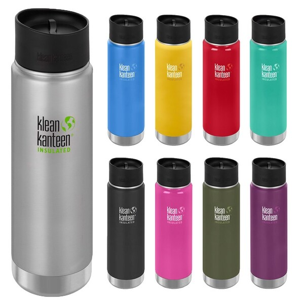 Klean Kanteen 20 oz. Wide Insulated Bottle with Cafe Cap - 20 oz.