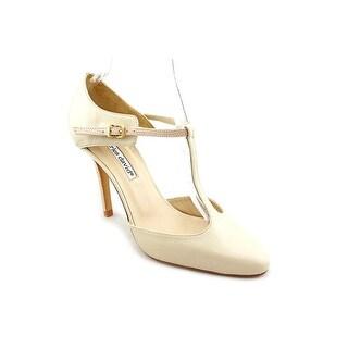Charles David Class Women Round Toe Leather Heels