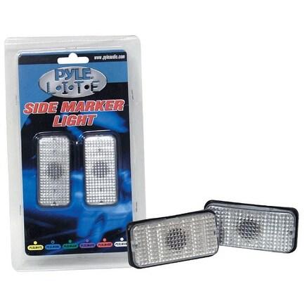 Pyle Lite Series Red Side Marker Light