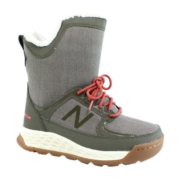 Balance Womens 2100 V1 Olive Snow Boots