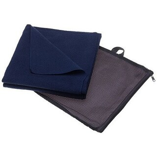 Aquis Adventure Microfiber Towel - Blueberry