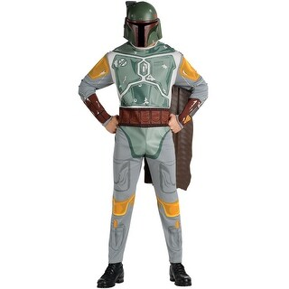 Rubies Boba Fett Adult Costume - Solid (2 options available)