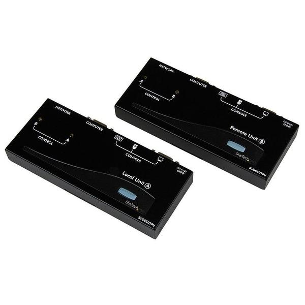 Startech - Sv565utpu Usb Vga Kvm Console Extendernover Cat5 Utp W/ Cables