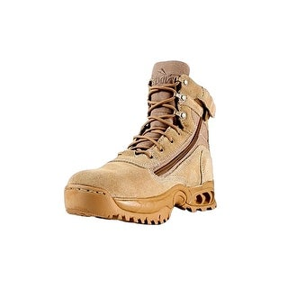 "Ridge Tactical Boots Mens Desert Storm Leather 6"" Shaft Sand"