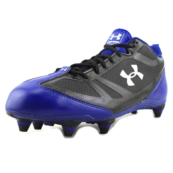 Under Armour Click-Clack Men Round Toe Synthetic Black Cleats