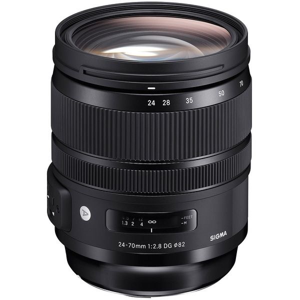 Sigma 24-70mm f2.8 DG OS HSM ART Lens for Canon EF - black