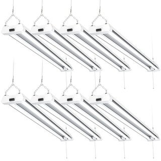 Sunco Lighting 4FT LED Shop Light 40W 5000K Daylight (Set of 8)