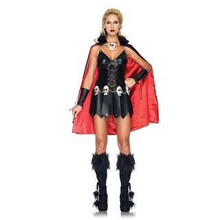 Sexy Warrior Woman Dress Halloween Costume
